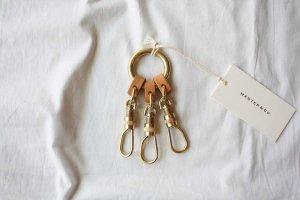 ■MASTER&Co. マスターアンドコー 3KEY RING SMALL キーリング