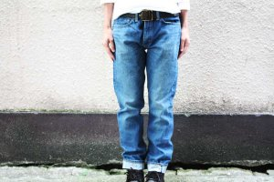 ■orslow オアスロー IVY FIT DENIM 107 2YEAR WASH [定番]