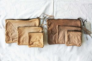 ■CHRISTIAN PEAU クリスチャンポー SQUER-POUCH 3SET ポーチ