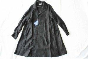 Yarmo ヤーモ Raglan Linen coat リネンコート