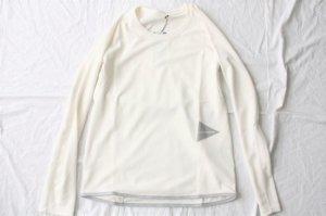 ■and wander アンドワンダー dry jersey raglan long sleeve T  ラグランロングスリーブTシャツ [定番]