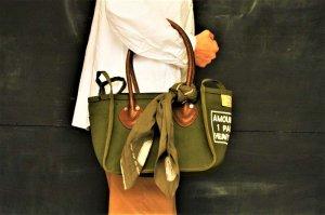 ■kapital キャピタル 4号アーミー帆布 MILK BAG XXS