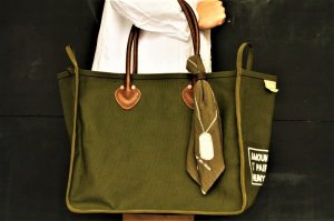 ■kapital キャピタル 4号アーミー帆布 MILK BAG S