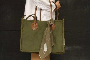 ■kapital キャピタル 4号アーミー帆布 MILK BAG XS