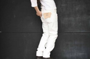 ■orslow オアスロー IVY FIT DENIM 107 WHITE [定番]