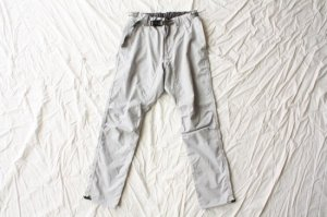 ■and wander アンドワンダー polyester climbing pants