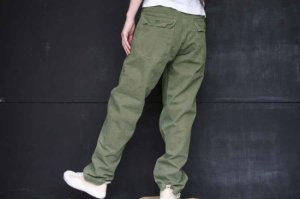 ■orslow オアスロー US ARMY FATIGUE PANTS (UNISEX BOY FRIEND FIT) [定番]