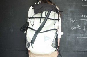 ■and wander アンドワンダー 40L backpack