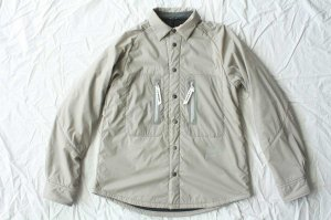 and wander アンドワンダー polartec alpha shirt