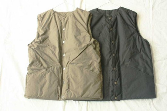 orslow オアスロー  COTTON SHELL VEST...