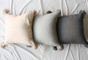 ■morocco モロッコ タッセルクッションカバー Tassel cushion cover  50x50