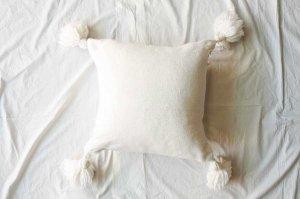 ■morocco モロッコ タッセルクッションカバー Tassel cushion cover  45x45