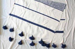 ■morocco モロッコ タッセルブランケット Tassel Blanket  232x123