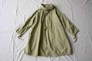 Yarmo ヤーモ cotton Hoodie coat  コットンフーディコート