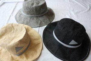 ■and wander アンドワンダー paper cloth hat  ペーパークロスハット