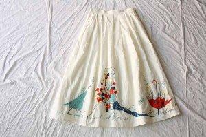l'atelier du savon アトリエドゥサボン 傘に生け花刺繍SK