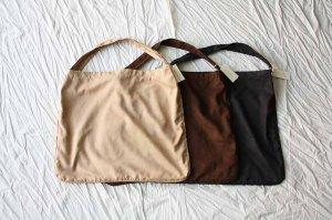 ■MASTER&Co. マスターアンドコー washable suede shoulder bag ウォッシャブルスエードショルダーバッグ