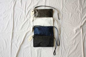 Zilla ジッラ satin shoulder purse バッグ