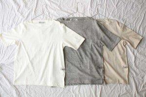 americana アメリカーナ 丸胴ラフィー天竺ボートネック S/S Tシャツ