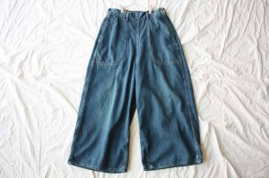 ■orslow オアスロー BAGGY RANCH PANTS DENIM [定番]