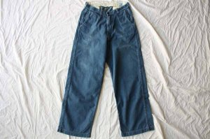■orslow オアスロー WORK TROUSERS DENIM (UNISEX) [定番]