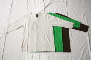 ■homspun ホームスパン 30/-天竺 七分袖Tシャツ [定番]