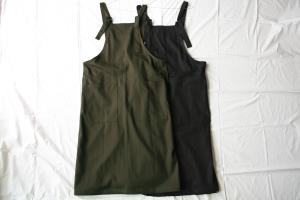 Yarmo ヤーモ Overall Dress  オーバーオールドレス