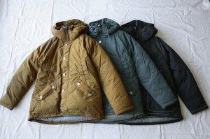 ■and wander アンドワンダー  tough down jacket  ダウンジャケット