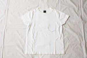 ■homspun ホームスパン 30/天竺 半袖Tシャツ  col/  サラシ [定番]
