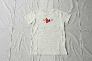 ■KAPITAL キャピタル  20/- 天竺 クルーT (LOVE Pt)