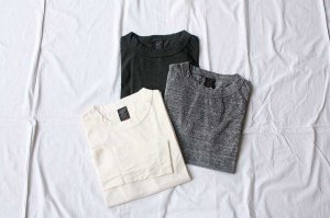 ■homspun ホームスパン 30/-天竺 長袖Tシャツ [定番]
