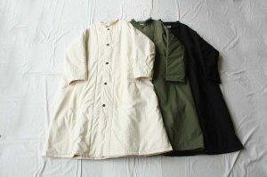 Yarmo ヤーモ  Quilt Lined Coat コート
