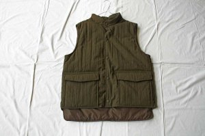 orslow オアスロー  WATER REPELLENT PUFF NYLON VEST ベスト (UNISEX)
