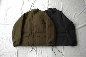 [30%OFF]orslow オアスロー  WATER REPELLENT PUFF NYLON COACH JACKET ジャケット (UNISEX)