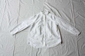 ■itiho  イチホ  オックス長袖シャツ col.white [定番]