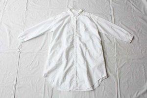 ■itiho  イチホ  オックス長袖シャツOP col.white [定番]