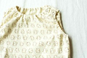 ■CHIGO チゴ PRINT NOSLEEVE ROMPERS 6month プリント ロンパース 6ヶ月