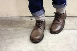 ■CHRISTIAN PEAU クリスチャンポー SOM-901-LY LEATHER SHOES  レザーシューズ col.L.CINNAMON