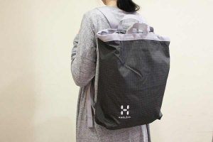 ■HAGLOFS ホグロフス BACK BAG col.CHARCOAL/CONCRETE