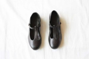 [フォーマル]■CHRISTIAN PEAU クリスチャンポー CP-T-STRAP VCW LEATHER SHOES col/ GRAPHITE GREY