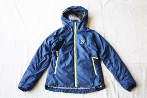 HAGLOFS ホグロフス BARRIER � Q HOOD col/ HURRICANE BLUE