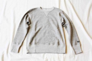 Americana アメリカーナ CREW NECK RIVERSE WEAVE SWEAT クルーネック スウェット col.TOP GRY
