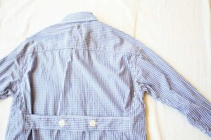 Americana アメリカーナ CHECK B.D SHIRTS COAT  col/ BLUE CHECK