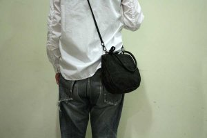■CHRISTIAN PEAU クリスチャンポー 10216 gm-hand bag 2way vcw LEATHER BAG レザーバック   col/GRAPHITEGREY
