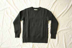 Americana アメリカーナ CREW NECK RIVERSE WEAVE SWEAT col. スミクロ