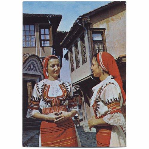 ブルガリア 民族 衣装