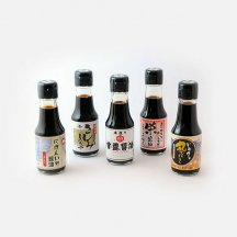 濃口醤油中心の東日本5本