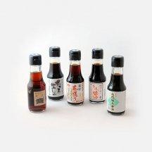 淡口醤油中心の西日本淡口5本