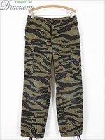 古着 パンツ USA製 ROTHCO タイガー ストライプ カモ 迷彩 コンバット カーゴ パンツ S-R パンツ 古着