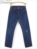 古着 パンツ 96s USA製 Levi's リーバイス 501 濃紺 インディゴ デニム パンツ ジーンズ ストレート W29 L31 古着